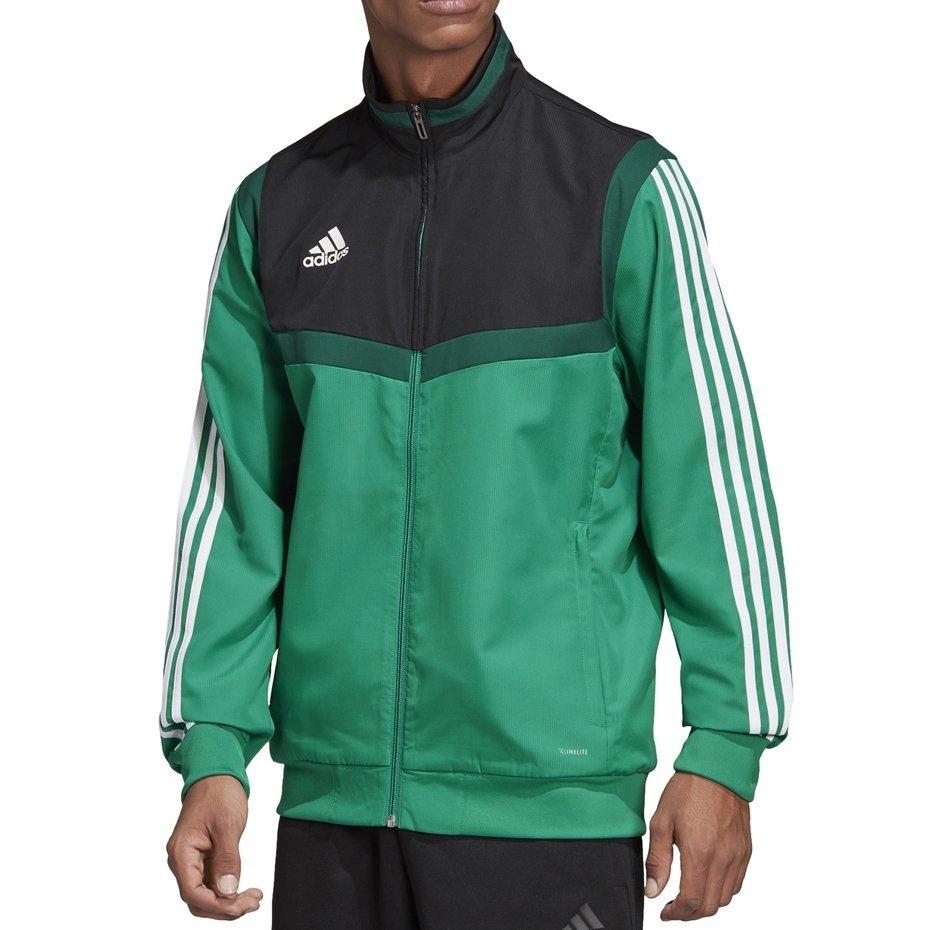 Nowe Produkty za pół duża obniżka Bluza męska adidas Tiro 19 Presentation Jacket zielona DW4788