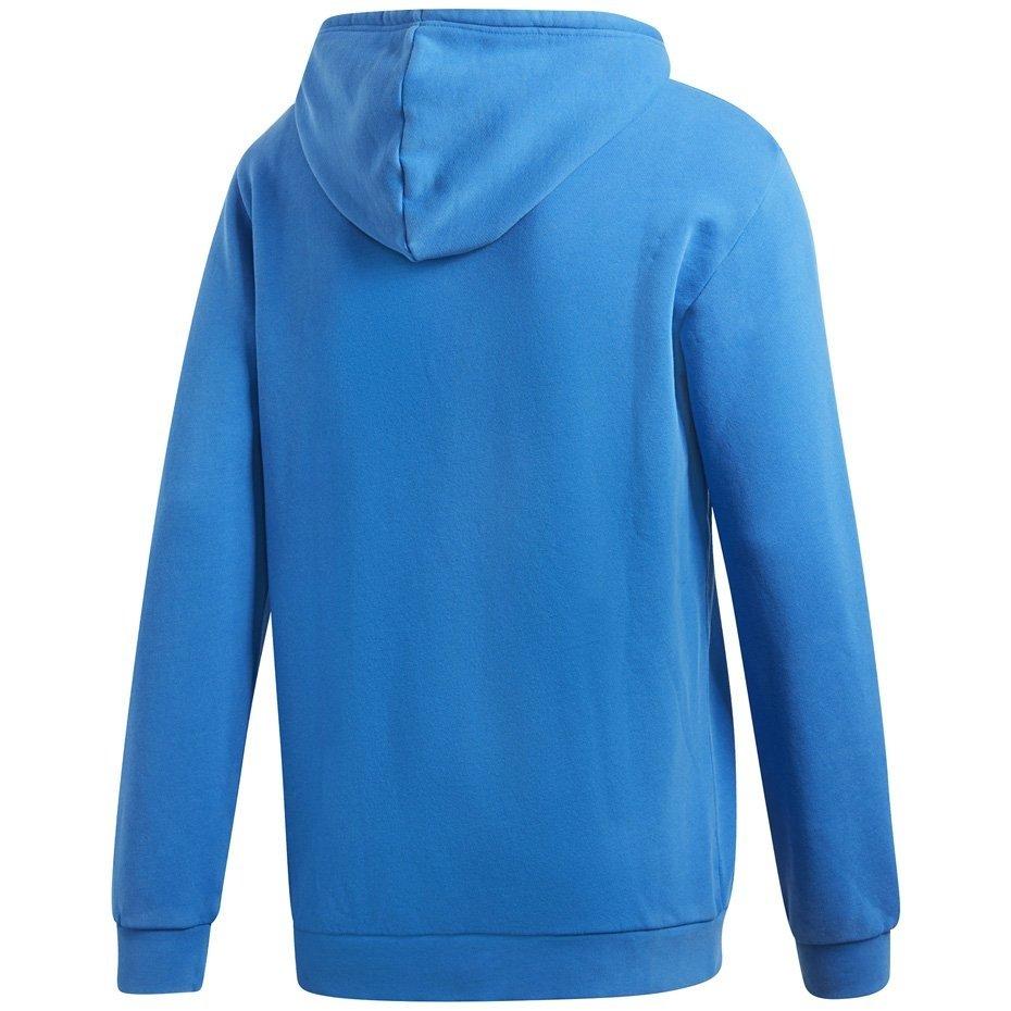 Adidas Bluza męska didas Trefoil Warm Up Hoody niebieska DT7965 L