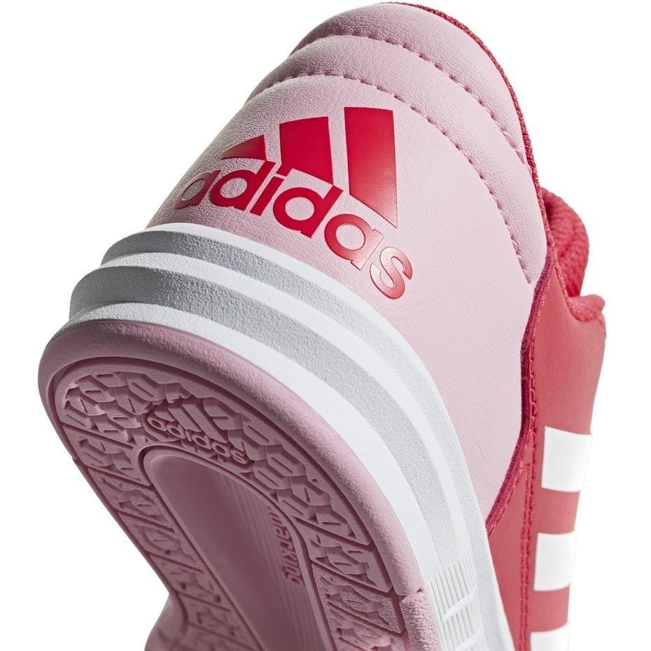 Buty dla dzieci adidas AltaSport K czerwone D96866 34