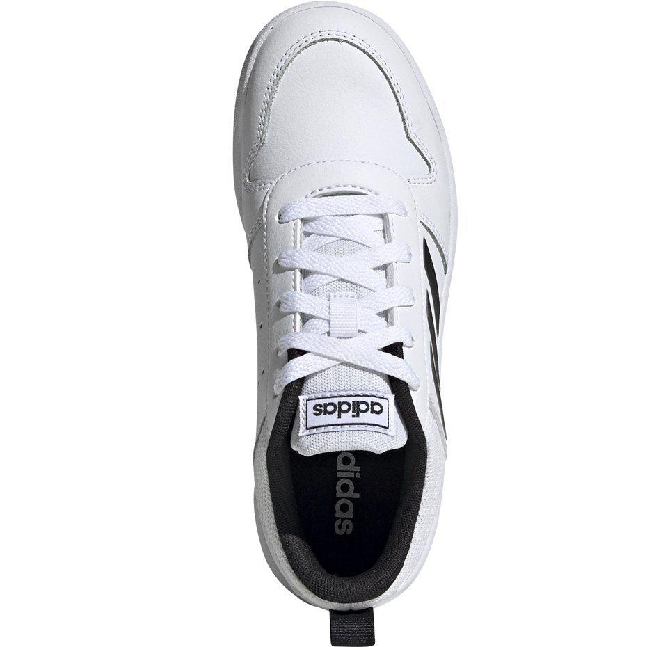 Buty dla dzieci adidas Tensaur K biało czarne EF1085 37 13