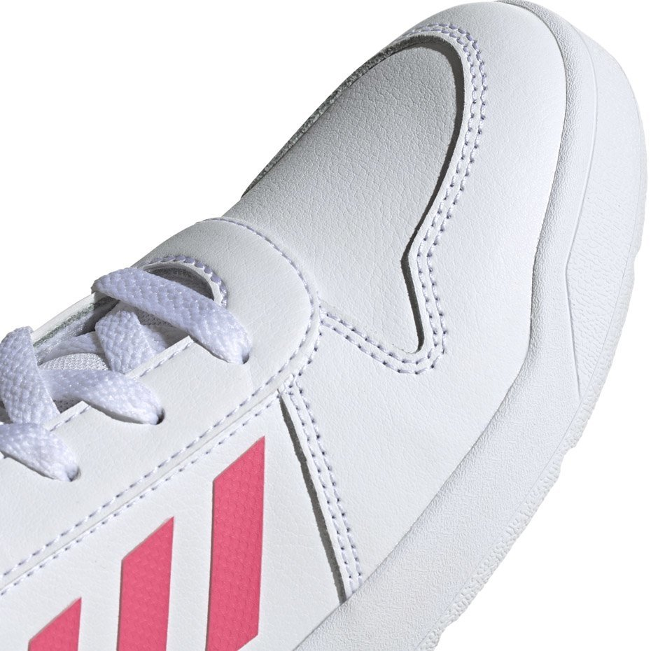 Buty dla dzieci adidas Tensaur K biało różowe EF1088