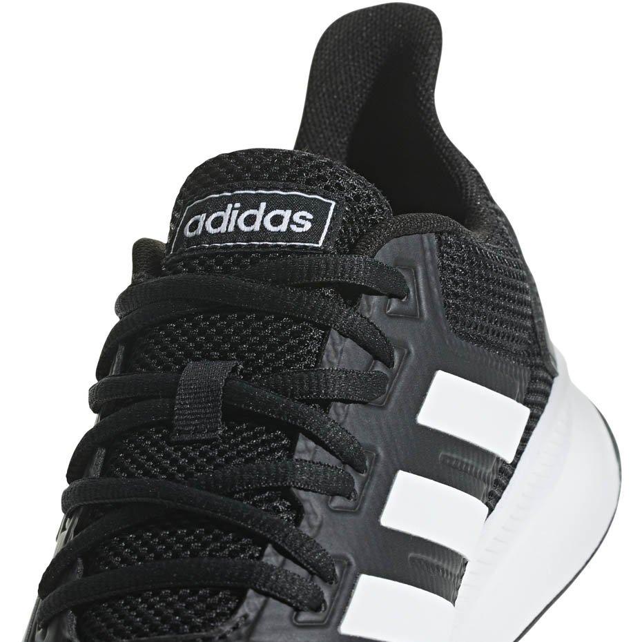 buty męskie adidas czarno biale