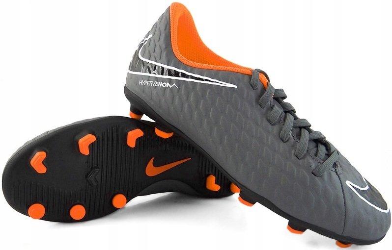 wyprzedaż ze zniżką zawsze popularny oryginalne buty Buty piłkarskie Nike Hypervenom Phantom 3 Club FG JR AH7290 081