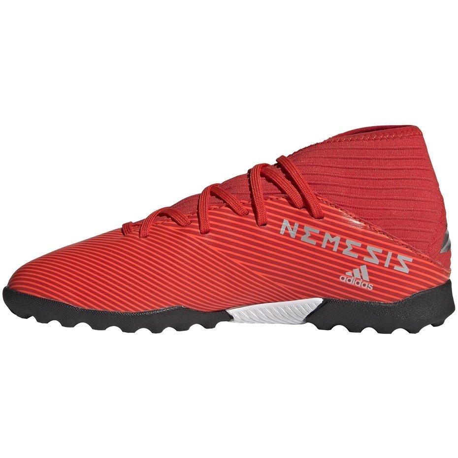 Buty piłkarskie adidas Nemeziz 19.3 TF JR czerwone F99941