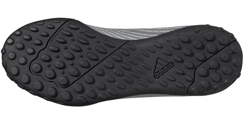 Buty piłkarskie adidas Predator 19.4 TF JR srebrne G25825