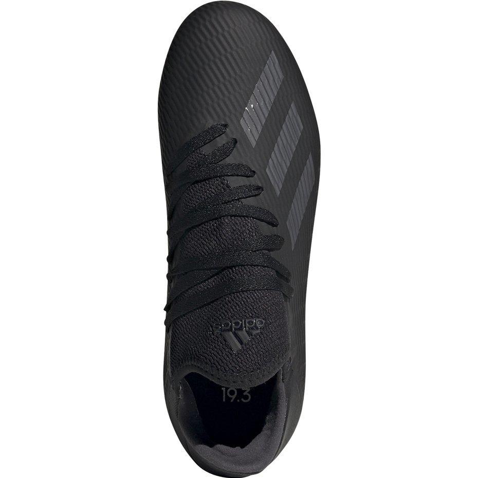 Buty piłkarskie adidas X 19.3 FG JUNIOR czarne F35364 Cena