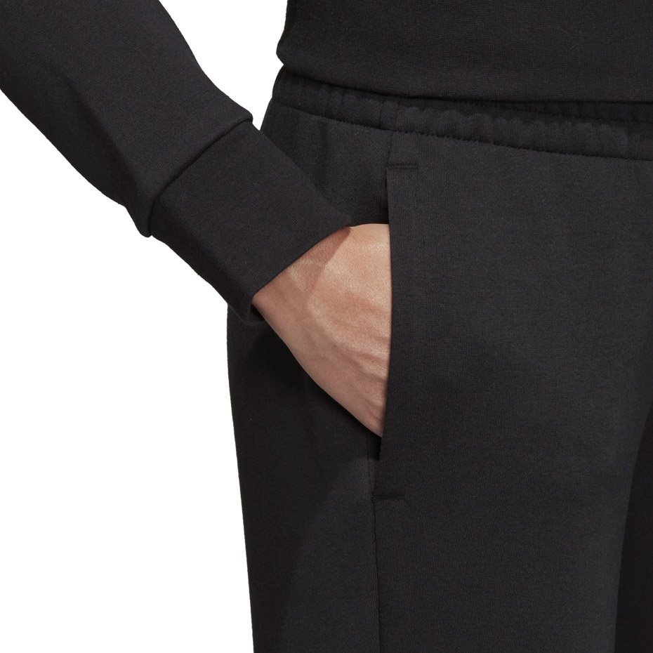 Spodnie damskie adidas W E Lin Pant czarne DP2399 L