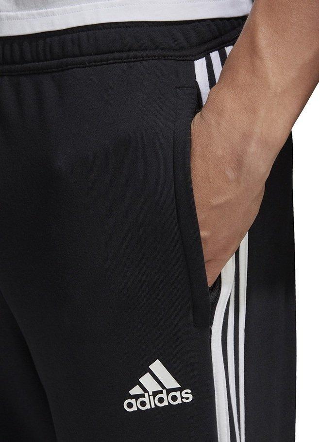 Spodnie dla dzieci adidas Tiro 19 French Terry czarne JR FN2337